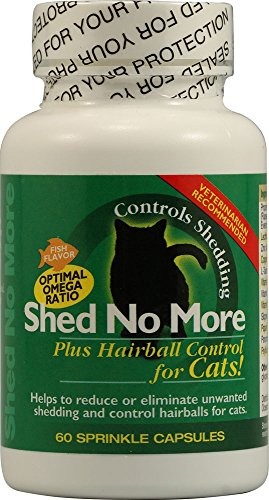 Shed No More for Cats, 60 Capsules