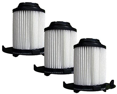 (3) Royal Dirt Devil F16 HEPA Vacuum Filter, Vision, Envision wide glide Uprights Vacuum Cleaners, F16, 2JW1000000, 086710, 86710, and all other Dirt Devil vacuums using the F16 filter (Filter Royal Hepa Replacement)