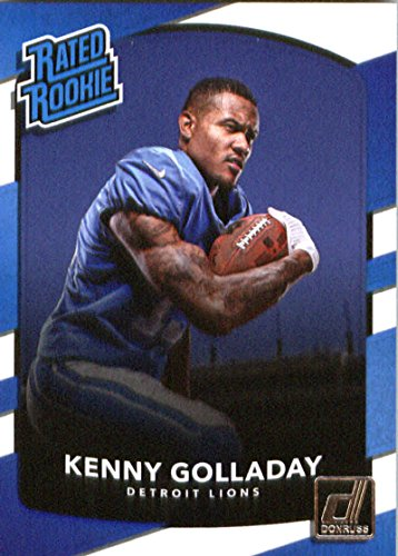 (2017 Donruss #325 Kenny Golladay Detroit Lions Rated Rookie Football Card )