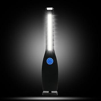 LILICAT/® L/ámpara de inspecci/ón LED COB Port/átil Linterna con magn/ético Soporte y Gancho Colgante Linterna de Trabajo LED Azul para Emergencia//Taller//Autom/óviles//Camping//Casera//Garaje//Coche