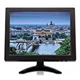 "TPEKKA 10"" Inch 1024x768 TFT LCD Monitor Screen Video (AV, VGA, BNC, HDMI) for PC Security Cam CCTV DVR"