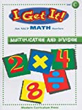 Multiplication and Division, MODERN CURRICULUM PRESS, 0765213044