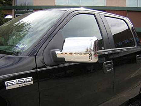 Ford F  Chrome Mirror Covers Fits