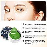 Under Eye Mask, Collagen Eyes Mask, 60 PCS Eye Gel