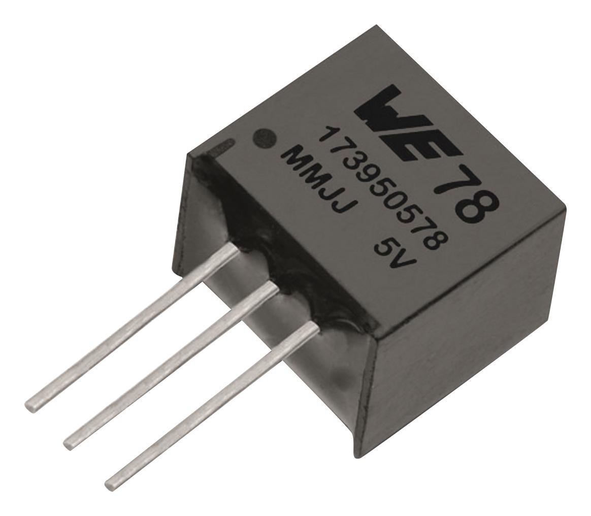 Linear Regulator DC//DC Converter Through Hole 1 Output 5 V 5 W 1 A Fixed