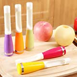 Fruits And Vegetables Kernel Remover Apple Pear Chili Corers Core Seed Remover Plastic Apples Core Removers -Pier 27