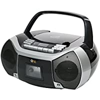 QFX J-36U Boombox with Bluetooth CD and Cassette