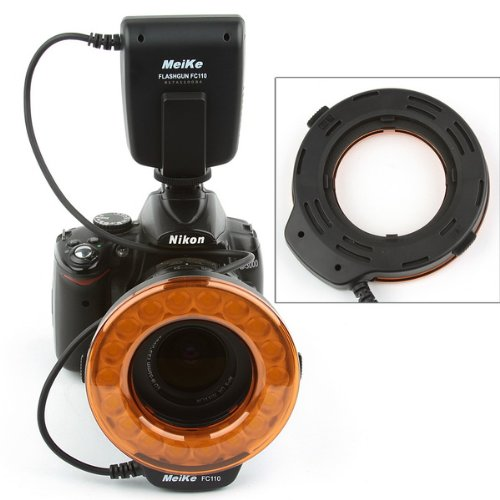 Meike® FC-110 LED Marco Ring Flash for Canon Nikon Pentax Olympus Cameras