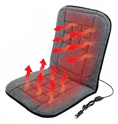 Verwarmd stoelkussen, verwarmde stoelbekleding, stoelverwarming voor auto, auto, vrachtwagen, camper, autostoel voor de…
