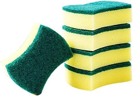 YOYO HOME Esponja para fregar de alta resistencia, esponjas de catering resistentes para cocinas, baños y limpieza resistente, tamaño: 11 x 7 x 3 cm, paquete de 40, 20 Pack, 14*10*3cm: Amazon.es: Hogar