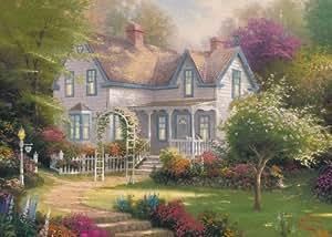 Gibsons hogar es donde está el corazón II Jigsaw Puzzle de Thomas Kinkade (1000 Piezas)