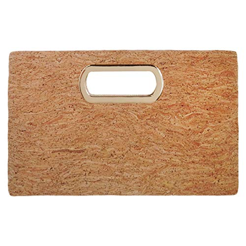 JNB Cork Top Handle Clutch