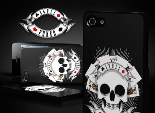 Master Case - Coque iPhone 5 Skull Poker