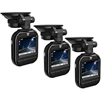 TaoTronics Car DVR Dash Cam 2K/30fps - 3 Pack