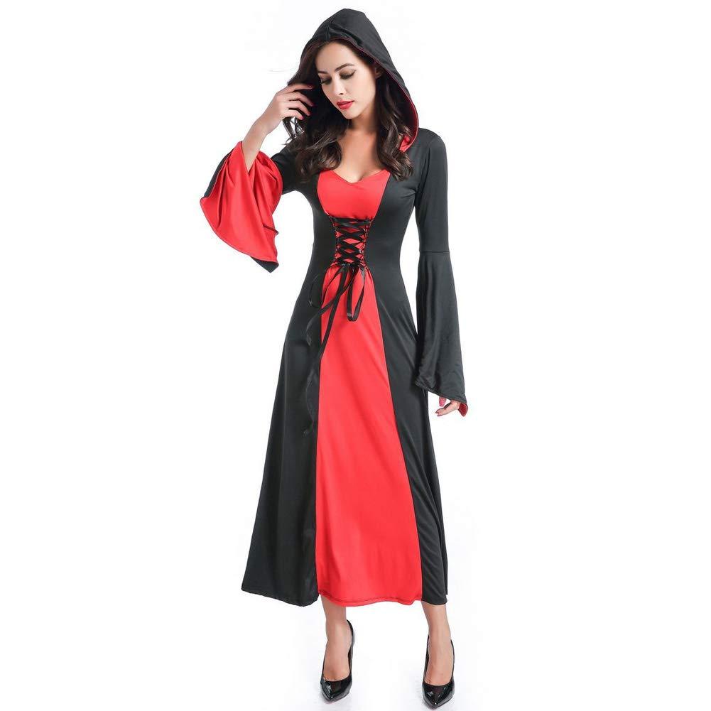 Amazon.com: ciclamen9 Disfraz de campeón gótico para mujer ...