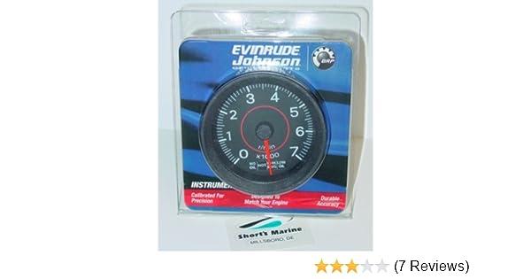 Evinrude Johnson 3 Tach & System Check Gauge 0177107