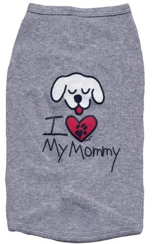 Kool Tees I Love My Mommy Dog Tee, Small, My Pet Supplies