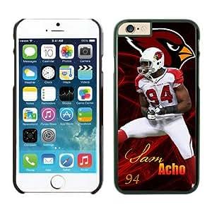 NFL Arizona Cardinals Sam Acho Case Cover For SamSung Galaxy S4 Mini Black NFL Case Cover For SamSung Galaxy S4 Mini 13661