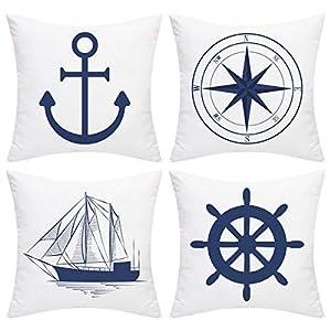 51dRFEGT3FL._SS300_ 100+ Nautical Pillows & Nautical Pillow Covers