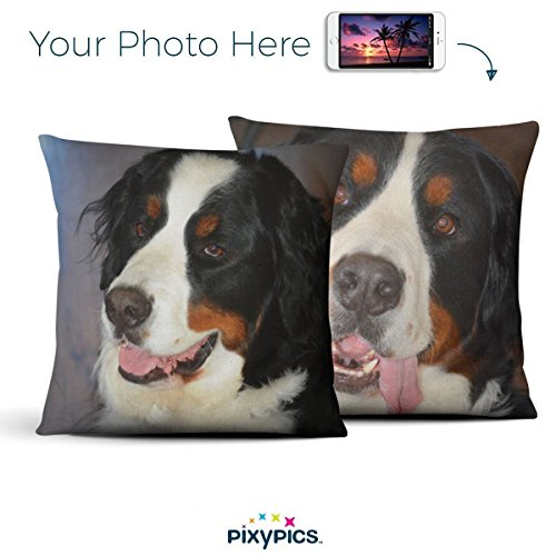 Amazing Custom Indoor Photo Pillows | Your Photo Printed on Vibrant and Beautiful Photo Pillows with Insert & Hidden Zipper -