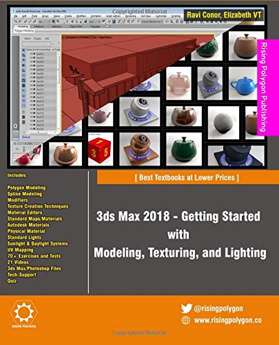 3ds Max 2018 - Getting Started with Modeling, Texturing, and Lighting PDF