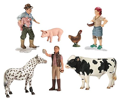 Schleich North America Deluxe Farm Starter Set