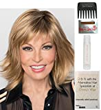 Bundle - 5 items: Infatuation by Raquel Welch Wig, 15 Page Christy's Wigs Q & A Booklet, Wig Shampoo, Wig Cap & Wide Tooth Comb (Color Selected: R3329S)