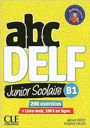 Abc Delf Junior Scolaire Niveau B1 Livre Dvd French