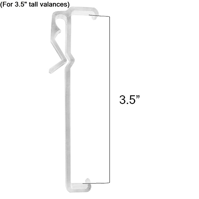 Amazon Com Valance Clips For Window Blind Valance 4 Different