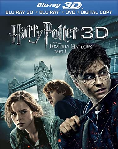 Harry Potter and the Deathly Hallows, Part 1 3D (Blu-ray 3D Combo Pack with Blu-ray 3D, Blu-ray, DVD & Digital Copy) [Blu-ray (Harry Potter 7 Deluxe)