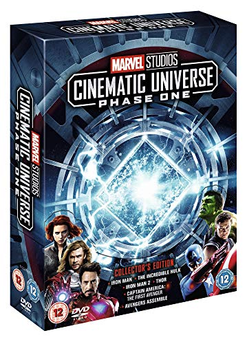 Marvel Studios Collector's Edition Box Set Phase 1 [DVD] [Region2] Requires a Multi Region Player
