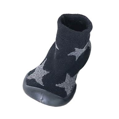 Unisex Cartoon Kids Socks Toddler Child Anti-slip Sock Shoes Boots Slipper Socks