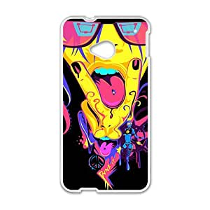 Colorful cartoon cute animal fashion phone case for HTC One M7