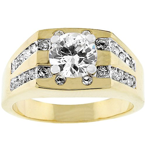 J Goodin Fashion Jewelry Barracuda Cubic Zirconia Ring Size 12 from JGOODIN