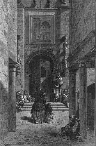 seville. en 1867. Puerta del Perdon, Catedral Old Vintage envejecido – 1880 – lienzo Prints de España: Amazon.es: Hogar