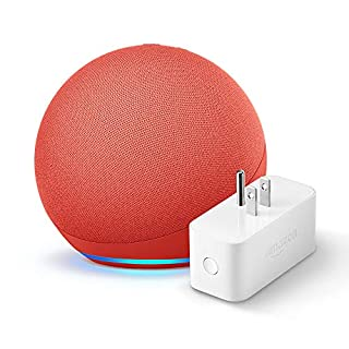 All-new Echo (4th Gen) + Amazon Smart Plug | (PRODUCT) RED