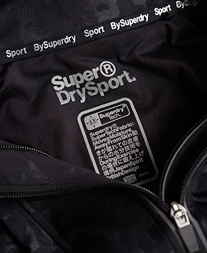 SWEAT SUPERDRY MODELE CORE GYM ZIPHOOD