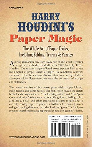Review Harry Houdini's Paper Magic: