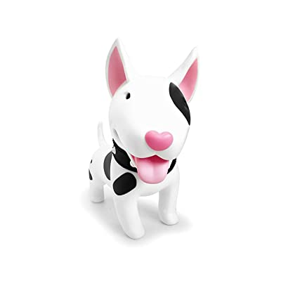DomeStar Cute Dog Bank, Bull Terrier Coin Bank Kids Toy Bank Doggy Puppy Piggy Bank for Girls Boys