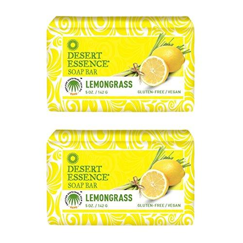 Desert Essence Lemongrass Soap Jojoba product image