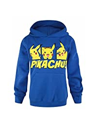 Pokemon Childrens/Kids Official Pikachu Pullover Hoodie
