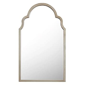 Amazon.com: Mirrors - Albornoz de pared con arco dorado ...