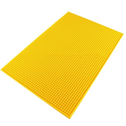 yellow dish drainer - 3