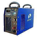 """Lotos Technology LTP6000 60Amp Non-Touch Pilot Arc Plasma Cutter, Blue, 3/4"""" Inch Clean Cut"""