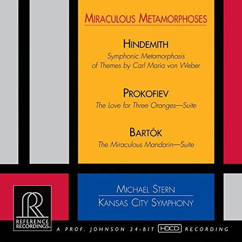 SACD : Kansas City Symphony - Miraculous Metamorphoses (Hybrid SACD)