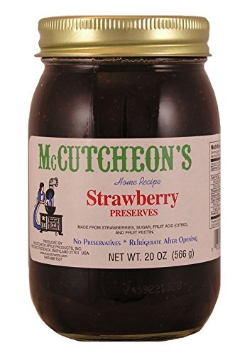 - Mc Cutcheon's Old Fashioned Strawberry Preserves, 20 Oz