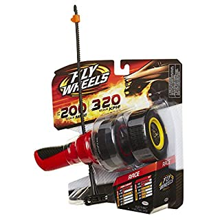 Fly Wheels Launcher + 2 Race Wheels - Rip it up to 200 Scale MPH, Fast Speed, Amazing Stunts & Jumps up to 30 feet! All Terrain Action: Dirt, Mud, Water, Snow- One of The Hottest Wheels Around!