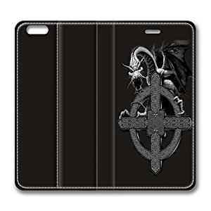 Celtic Cross Dragon Smart Case Cover with Back Case for Apple iPhone 6