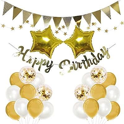 Mainiusi Set de decoración de fiesta de cumpleaños ...