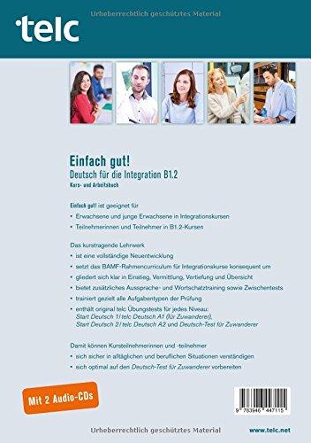 einfach gut deutsch für die integration b1 2 kurs und arbeitsbuch